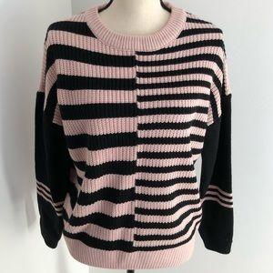 NWT! Catherine Maladrino striped sweater Size S
